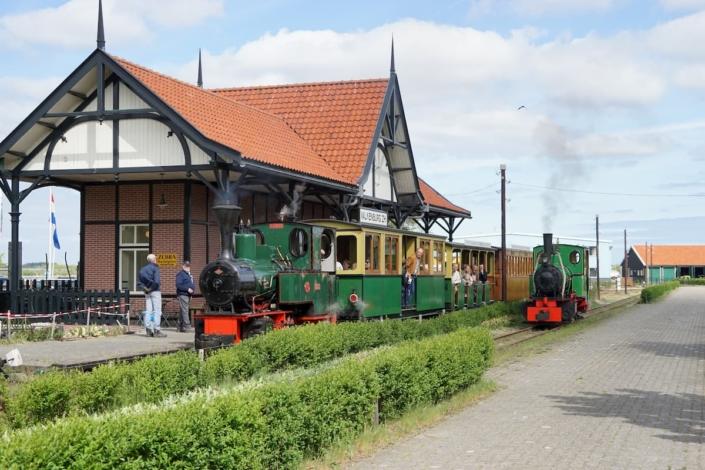 Stoomtrein Katwijk Leiden