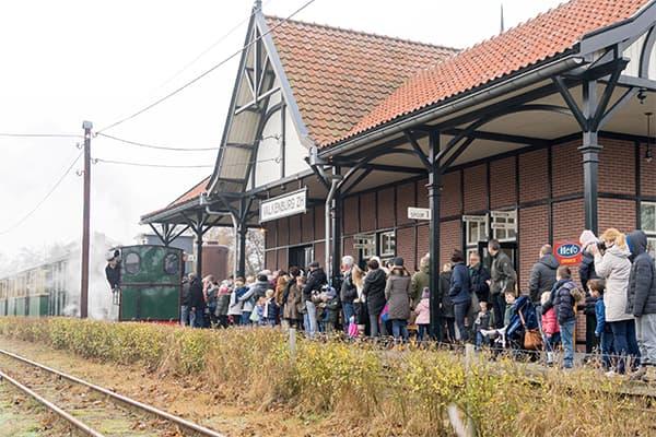 KERNCOLLECTIE - Stoomtrein Katwijk Leiden GEBOUWEN